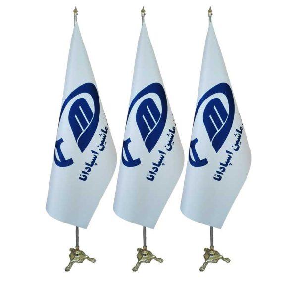 پرچم لمینت سفید