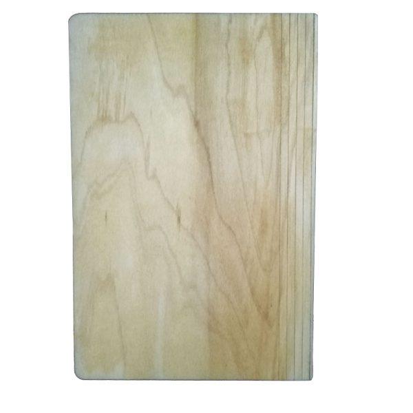 سررسید جلد چوبی